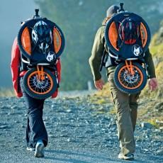 Велосипед-рюкзак Bergmoench – необычный и практичный