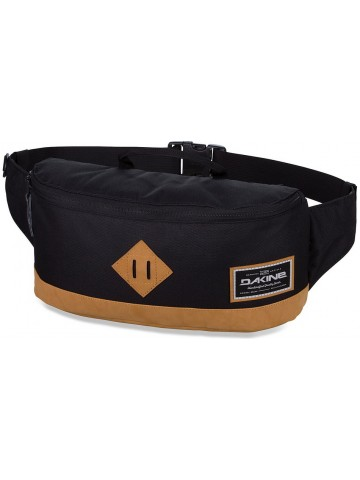 Crescent Hip Pack Black