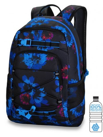 Girls Grom 13L Blue Flowers