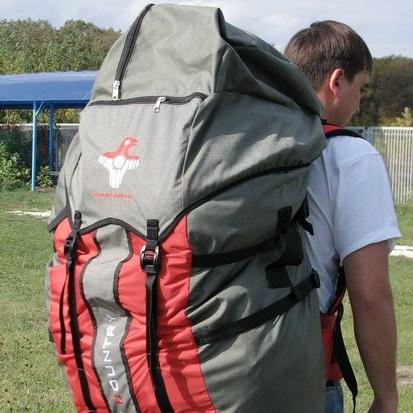 сколько должен весить рюкзак